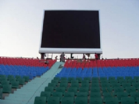P12mm Outdoor Double column LED Display