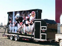 Outdoor Full color Movable Advertising LED Display