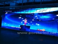 Black Surface led Indoor Rental LED Screen