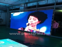 P3.91mm Black Surface INDOOR Rental led screen