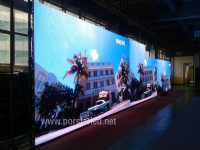 P10.41mm SMD3535 Outdoor Curtain Strip LED Display