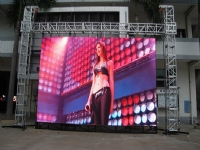 P16mm full color outdoor advertising led display