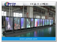 Iphone mobile advertising led display