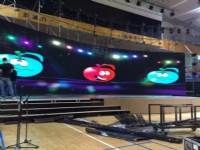 P5.95mm Curved Rental LED Displays Project