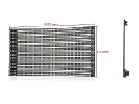 P25mm Outdoor LED Media Mesh Screen